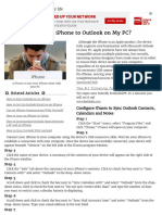 How Can I Sync an iPhone to Outlook on My PC_ _ Our Everyday Life