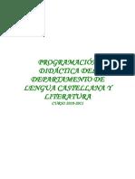 Programacion3º ESO
