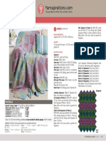 Knit Squares Blanket