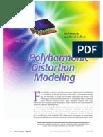 Polyharmonic Distortion Modeling_Verspecht 2006