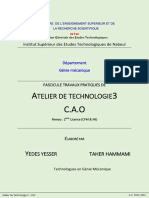 Fascicule de Tp Cao Solidworks
