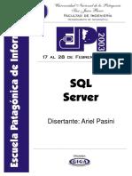 SQL Server Curso Español
