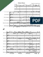 Stabat Mater for Saxophone Octet Pergolesi (1)