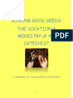 CALLED to SHARE FAITH Catechist Workshops Booklets