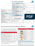 Constipation Risk Assessment Tool
