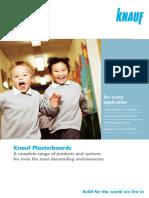 Plasterboard Brochure 2013