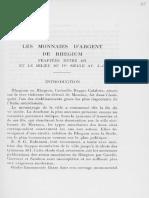 Catalogue des tétradrachmes et drachmes de Rhegion
