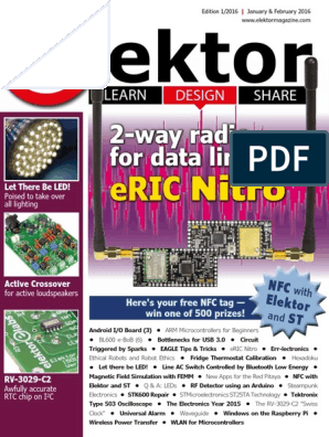 Elektor Electronics USA - January-February 2016 | Near Field