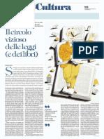 Michele Ainis, i Libri Si Ritorcono in Se Stessi - La Repubblica 21.02.2017