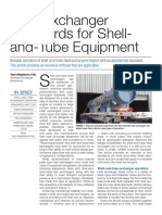 Heat Exchanger Standards for Shell and-Tube Equipment
