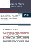 Mining Act of 1995 -Ver.2003