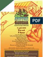 Affiche Festival Harricana