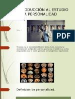 Introducción Al Estudio de La Personalidad