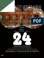 La Religión y el Mundo Actual  de Federico Salvador Ramón – 24 – África, América, Roma y España