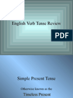 English tenses review