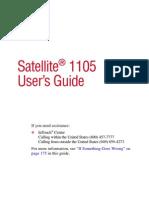 Manual Note Satellite 1105