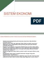 Politik Ekonomi_sistem Ekonomi