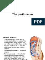 Anatomy of Peritoneum