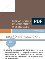 diseoinstruccionalcomponentesbsicosoesenciales-111226144007-phpapp01