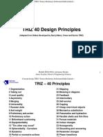TRIZ 40 Principles1