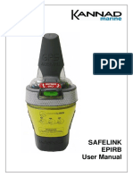 Kannad Marine SafeLink EPIRB User Manual