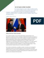 América Latina en El Nuevo Orden Mundial