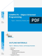 T00440030220144075COMP6175 – Object Oriented Programming - 06 (1)