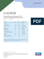 12467 1 en H ECOPUR Material Datasheet