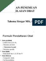 FARMAKOTERAPI 3 Penemuan, Pengembangan  dan penilaian  obat.pptx