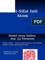 Sifat Sifat Inti Atom