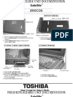 Manual de serviço TOSHIBA Satellite2500cds