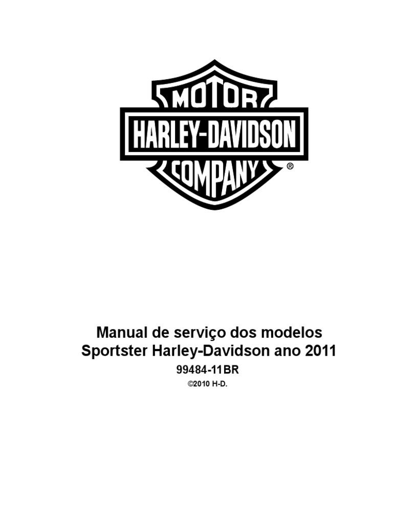 2011 Manual de Serviço Dos Modelos Sportster Harley