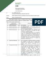 Informe de Observaciones Centro Civico