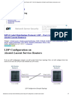 MPLS Label Distribution Protocol, LDP – Part 3 (Configuration on Alcatel-Lucent Routers) _ Www.ipcisco