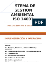 Sistema de Gestion Ambiental Iso 14001
