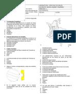 Evaluación de Geografia Fisica de Colombia 1