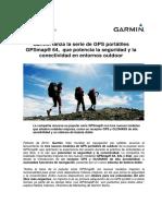 NP7-Garmin GPSmap64 Potencia Conectividad Outdoor