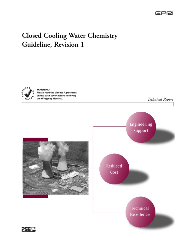 176461542 epri closed cooling water chemistry guideline revision 1 rh scribd com epri bwr water chemistry guidelines epri pwr primary water chemistry guidelines