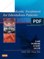 2013 Prosthodontic Treatment for Edentulous Patient 13