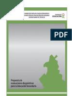 1° Sec Español Diagnóstico
