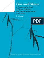 One and Many a Comparative Study of Platos Philosophy and Daoism