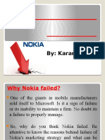 failure of nokia