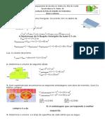 Resolução Da Ficha de Trabalho _Áreas e Volumes
