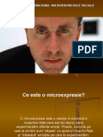 Microsoft PowerPoint Presentation microexpresiile faciale