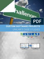 Unilab Case Studies - Oct. 2016