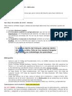 "Clases Derecho Procesal Civil ""1"" PRIMER CORTE"