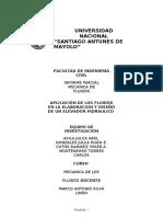 Informe de Mecánica