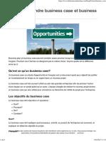 Ne Pas Confondre Business Case Et Business Plan