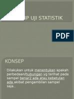 Prinsip Uji Statistik