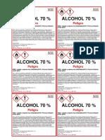 Alcohol Medicinal 2 Etiquetas Mabelsa